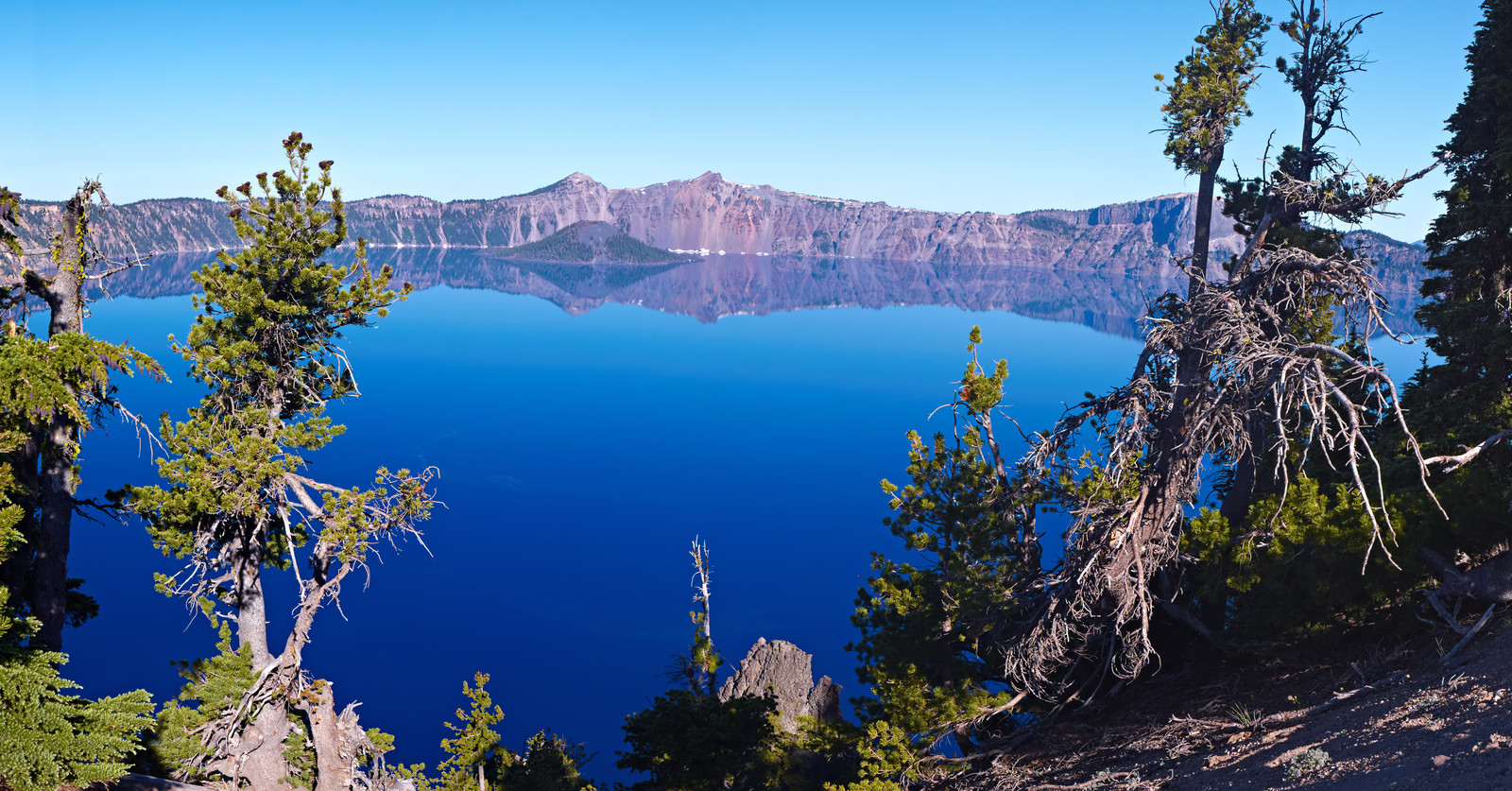 rv in crater lake
