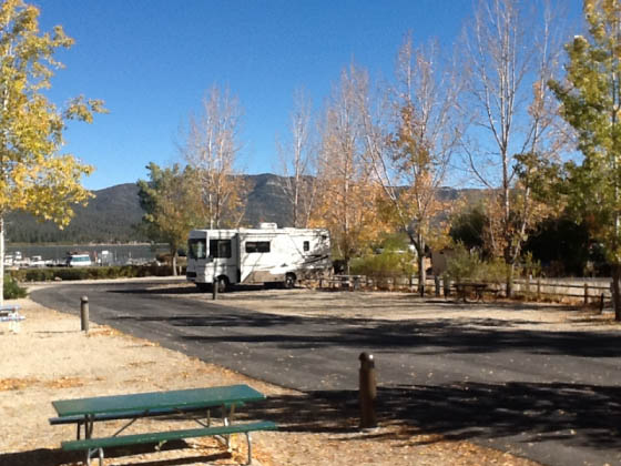 rv camping at big bear lake utah