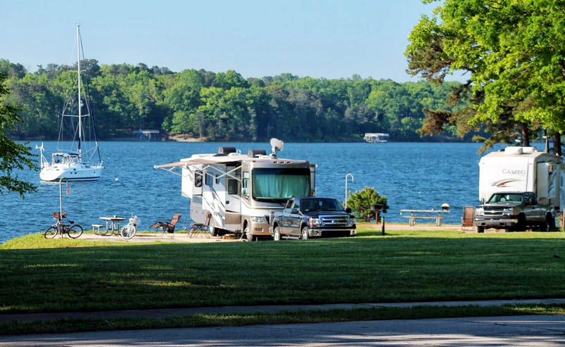 rv rental at lake lanier