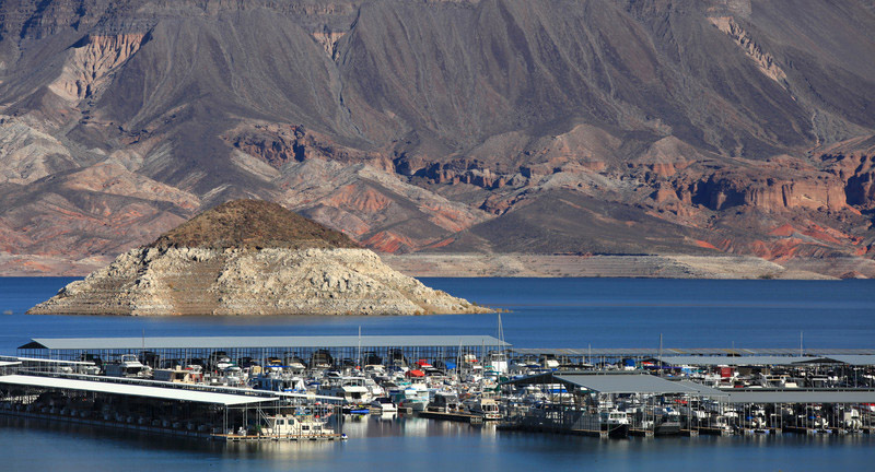 rv camping at lake mead