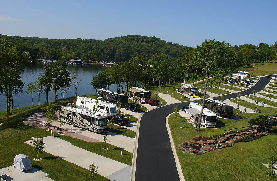 ozark resort rv camping table rock lake