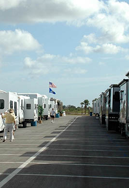row of RV classes